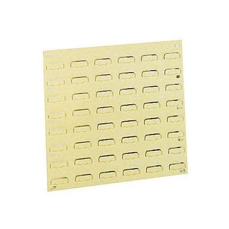 Unité de stockage de panneaux à persiennes RS PRO Grès en PP, 1000mm x 500mm