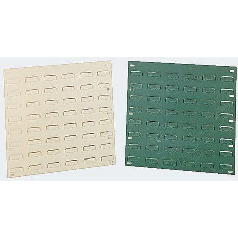 Unité de stockage de panneaux à persiennes RS PRO Gris en PP, 946mm x 457mm