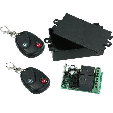 Universal 10A Relay Wireless Remote Control Switch AK-RK02S-DL-AK-BF02*2
