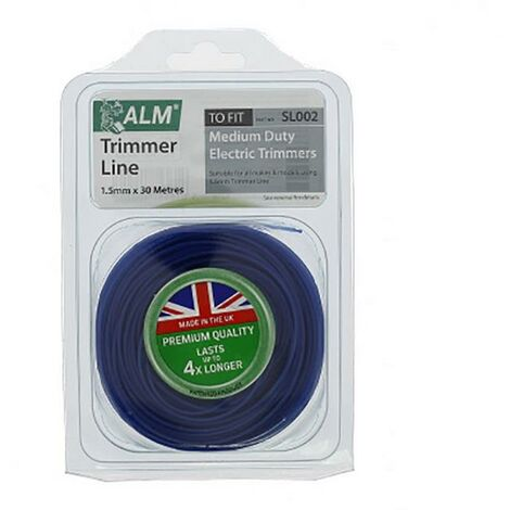 """main image of """"Universal 1.5mm Blue Round Grass Trimmer Cutting Line 30m"""""""