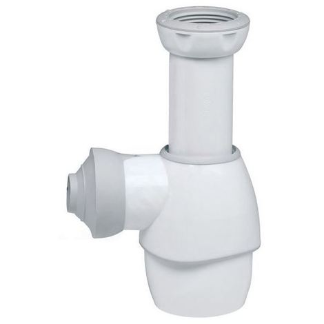 Universal All In One 32-43mm Push Fit Basin Sink Outlet Bottle Waste Trap