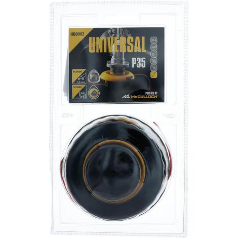 Universal by McCulloch Trimmerkopf P25 2.0 mm x 4 m - HDO001
