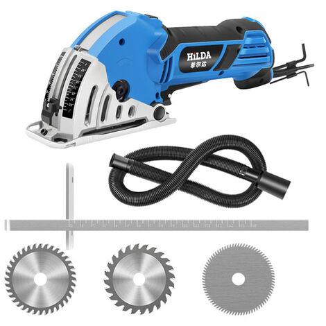 Universal de multiples funciones de acrilico JD3522C HILDA 500W electrica mini sierra circular de energia de la madera Mano