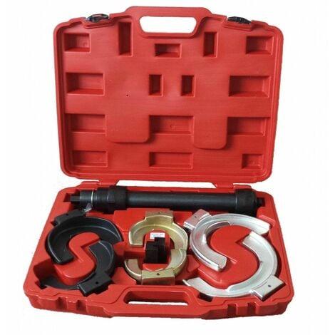 Universal Kit Muelle Helicoidal MacPherson Compresor Coche Spring Compresor Suspension