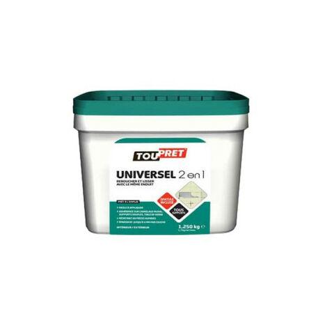 Universal plaster TOUPRET 2 in 1 - 1,25Kg - LSUNITUB125