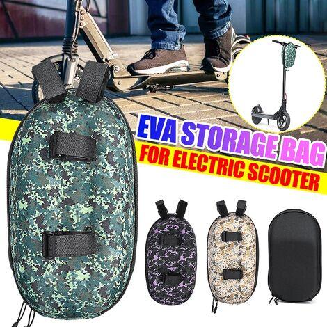 Universal Protable Scooter Handle Front Bag para Ninebot ES1 ES2 Xiaomi Mijia M365 Bird Black Accesorios de acople eléctrico LAVENTE