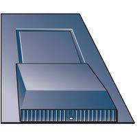 Universal Slate Roof Vent 600 x 30 /500 x 250mm