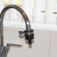 """Universal Tap Connector With Clip for Rounded Taps in Diameter 1"""" and more"""