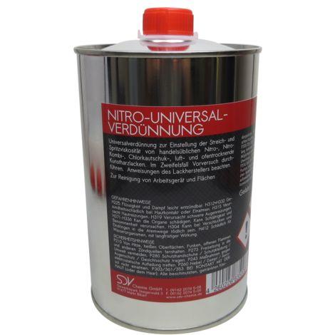 UNIVERSAL VERDÜNNUNG Nitroverdünnung Waschverdünnung Lackverdünner
