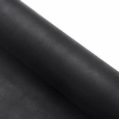 Unkrautvlies 25m²(1m x 25m)/30m²(1.5m x 20m)/50m²(1m x 50m), Gartenvlies aus PP (Polyproylen), Unkrautfolie, Garten, Beet, unkrautfrei, hoch belastbar, wasserdurchlässig, UV-resistent, Schwarz