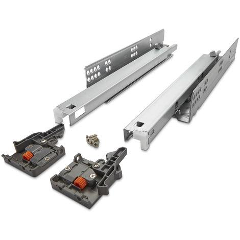 Unterflurführung 30 Kg 300 - 550 mm UV2-30-K3D-SC Soft-Close FullSlide 3D