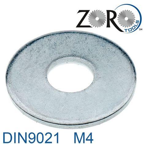 Unterlegscheiben M18 Stahl verzinkt DIN 125-1A 100 Stk