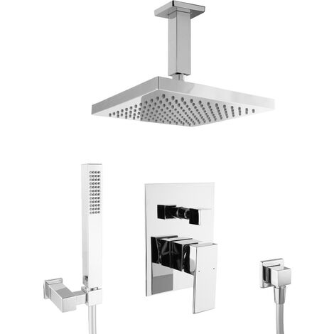 Unterputz Duschset Duschsystem Regendusche Armatur Set Dusche Brause
