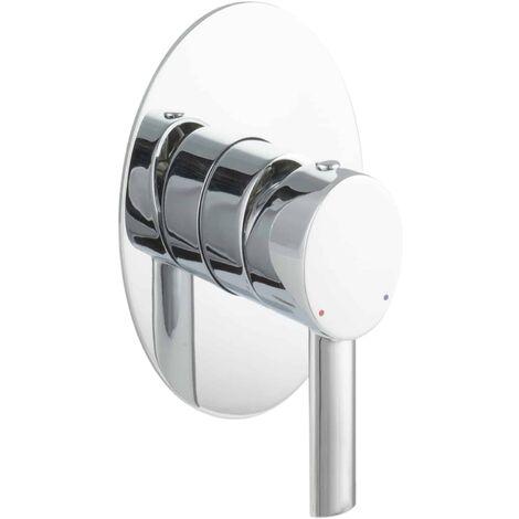 Unterputzarmatur Duscharmatur Einhandmischer oval
