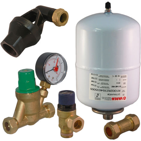 Unvented expansion & pressure reducing kit A B C D for Ariston & Hyco Speed