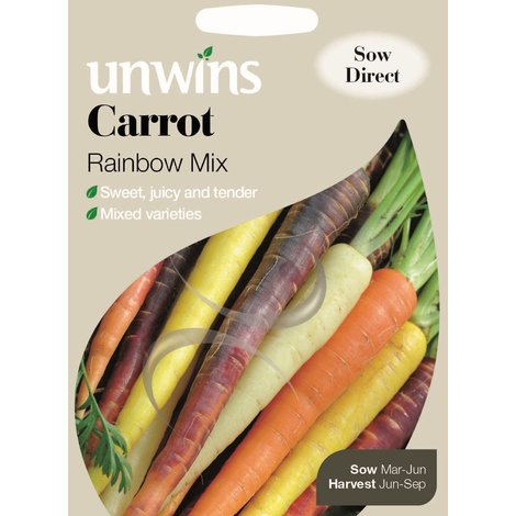 Carrot Autumn King 2 Pictorial Pack Vegetable TAPE Johnsons Seeds