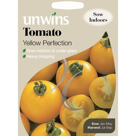 Organic Vegetable Seeds Suffolk Herbs Tomato Yellow Perfection