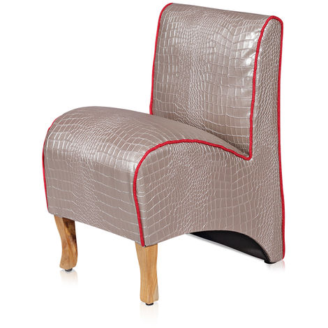 Upholstered armchair Children's sofa Children's furniture Armchair TV armchair silver