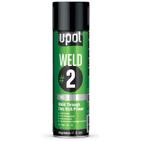 UPOL - Apprêt soudure à base de zinc 450ml - WELD/AL