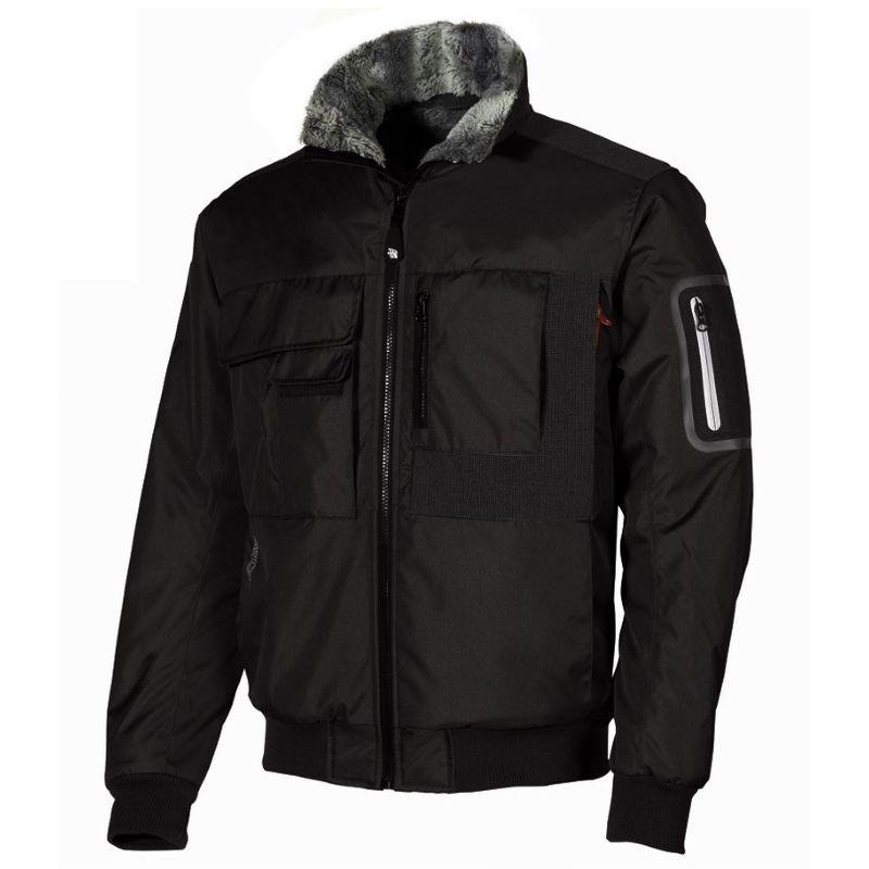 Upower GEAR giubbino giaccone giacca da lavoro impermeabile interno micropile