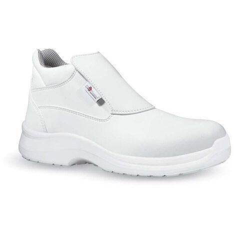 d214c3f6b2 Upower shine grip scarpe da lavoro bianche alte s2