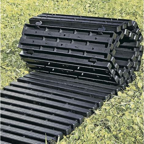 UPP Piste de jardin en plastique enroulable 30 x 150 cm