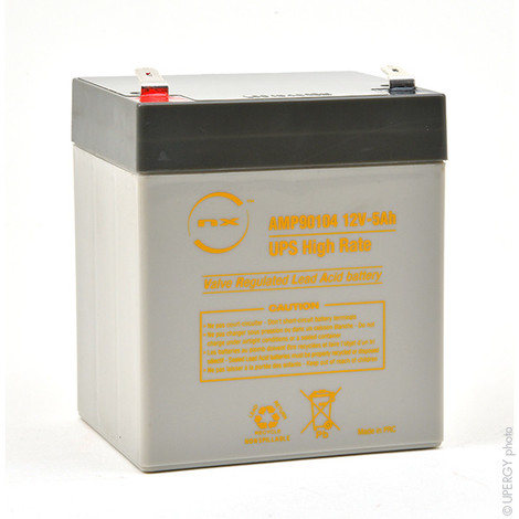 UPS Battery NX 5.4-12 UPS High Rate 12V 5.4Ah F6.35