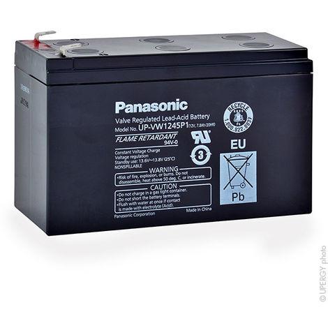 UPS Battery PANASONIC UP-VW1245P1 FR 12V 8Ah F6.35