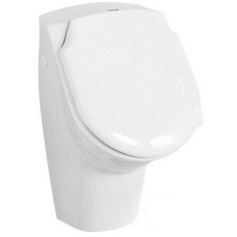 Urinal m. Löcher f. Deckel weiß mit Hygiene Glasur