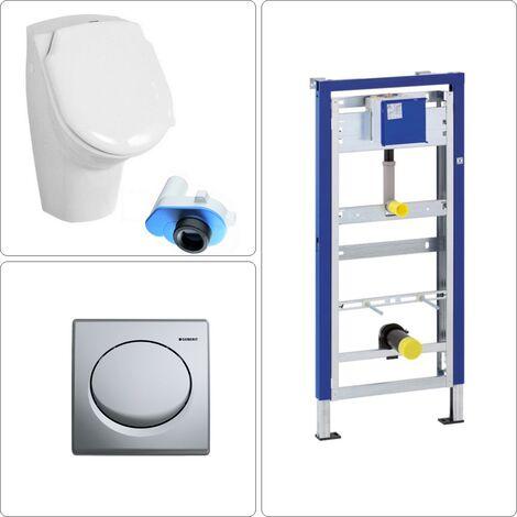 Urinal mit Deckel Set Geberit, chrom