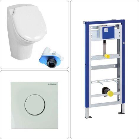 Urinal mit Deckel Set Geberit mit Rohbauset