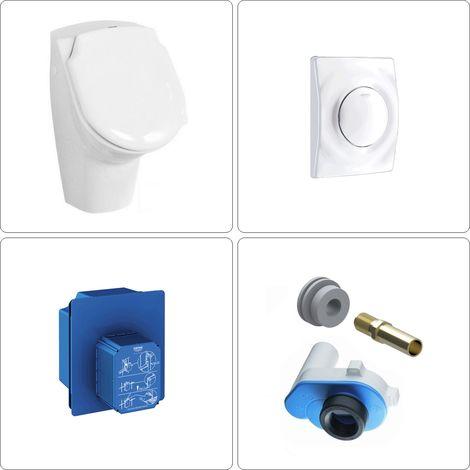Urinal mit Deckel Set Grohe, weiß