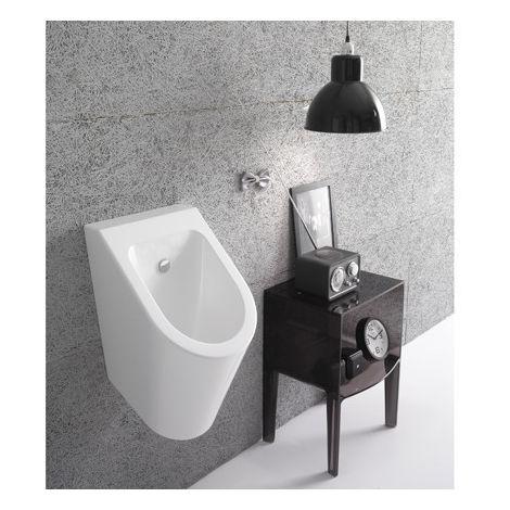 Urinal, wandhängend. FORTY3 37x33 cm - cod FO029 - CERAMICA GLOBO | Glänzend schwarz - Globo NE