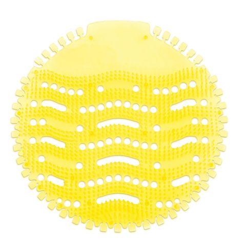 Urinaleinlage gelb mit Lemonduft - 17 cm Durchmesser