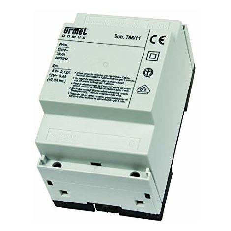 Schema Elettrico Urmet 9854 56 : Urmet alimentatore citofonico n base con generatore di