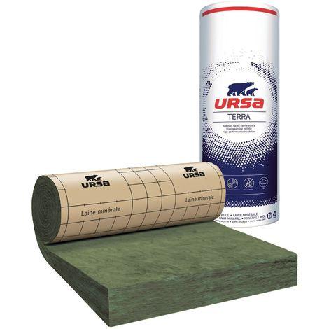 URSA TERRA MRK 40 | Ep.200 mm 1,2mx4,5m | R=5,00 - paquet(s) de 5.4m²