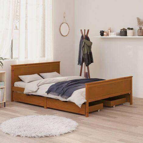 US Boîte aux lettres Boîte aux lettres support mural gris argenté American Design