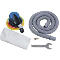 """US PRO 6"""" 150mm AIR DUST-FREE DA ORBITAL PALM SANDER with Dust Extractor 8323"""