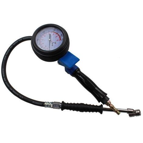 US PRO High Pressure Air Tyre Inflator Gauge for HGV Commercial 0-160 PSI 8812