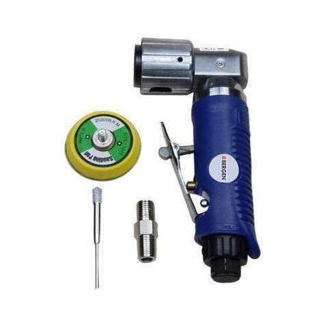 """US PRO Tools 2"""" Air Angle 90 Deg Head Mini Sander Velcro Pad Sanding NEW 8316"""