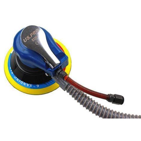 "US PRO Tools 6"" Air Orbital Palm Sander Flexible Sanding Tool 8329"