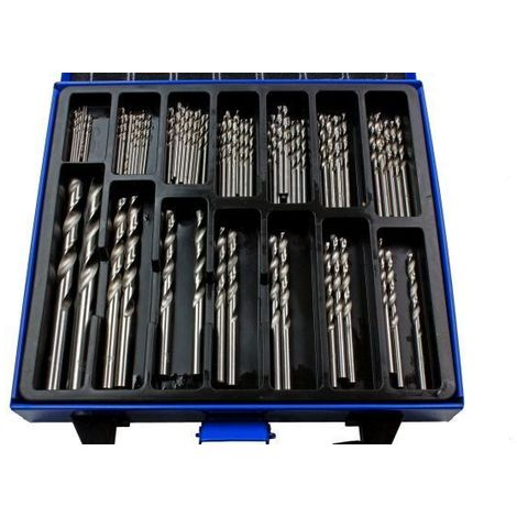 US PRO Tools 99pc Metric HSS Drill Bit Set Bits 1.5mm to 10mm NEW 2644