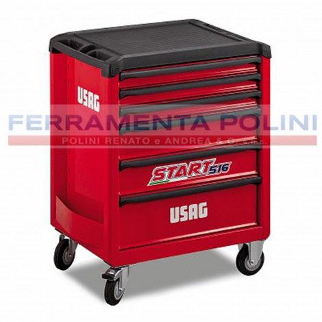 USAG 516 SP6V - CARRELLO START 6 CASSETTI VUOTO