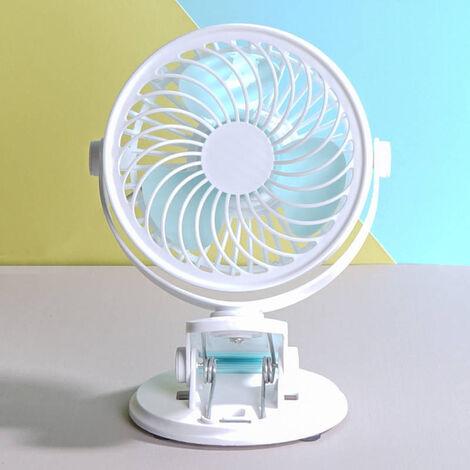 USB petit ventilateur ¨¦tudiant dortoir silencieux petit ventilateur bureau ordinateur bureau mini bureau ventilateur ¨¤ clip en gros