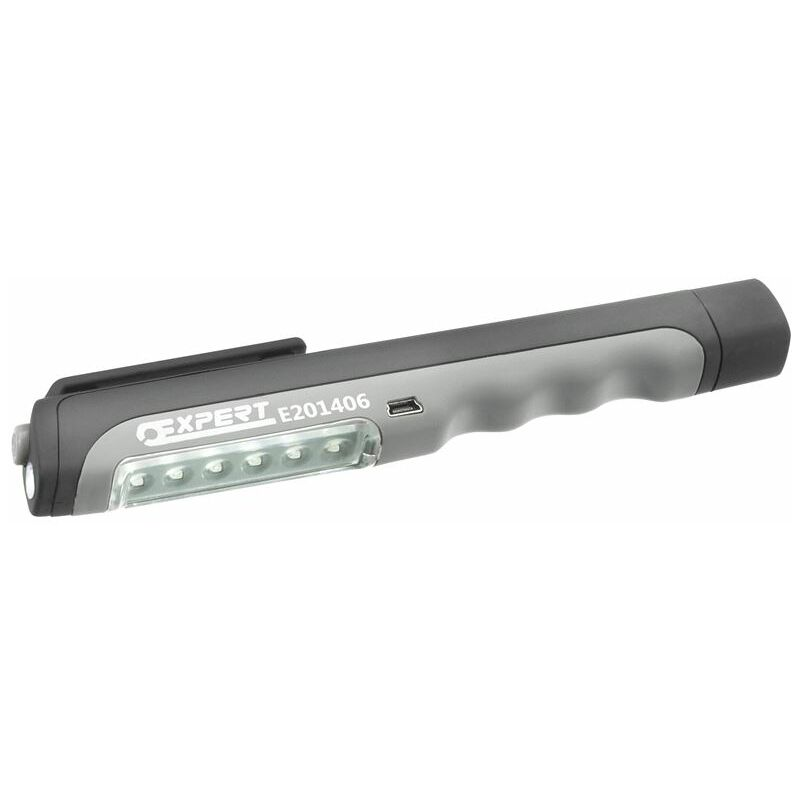 Image of USB Rechargeable Penlight 6+1 LED (BRIE201406B)