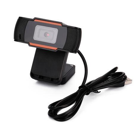 "main image of ""USB Webcam Web-Camera Built-in Sound Gaming Microphone for Online Lesson Desktop Computer Camera,model:Black 1080P"""