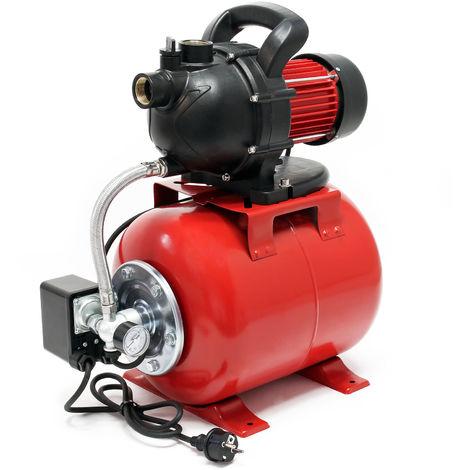 Usine d'eau domestique Pompe de jardin 1000 Watt automate d'eau domestique 3500 l/h pompe