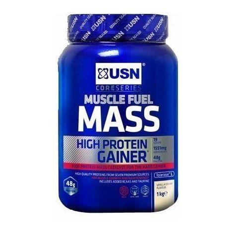 USN Muscle Fuel Mass Vanille 2 kg Prise de Masse