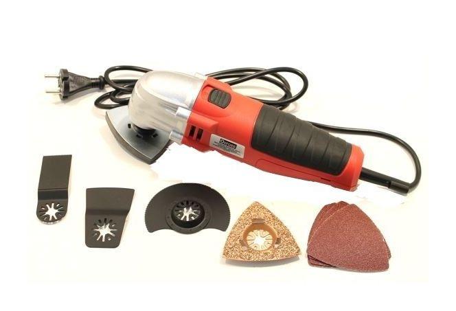 Utensile multifunzione oscillante kit accessori taglia e