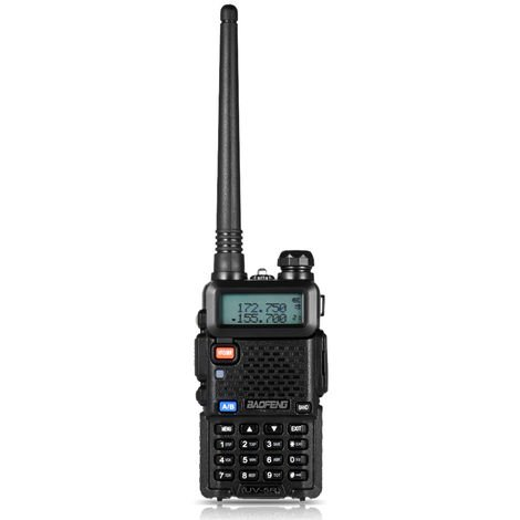 Uv-5R Walkie Talkie, Bi-Directional Fm Transceiver